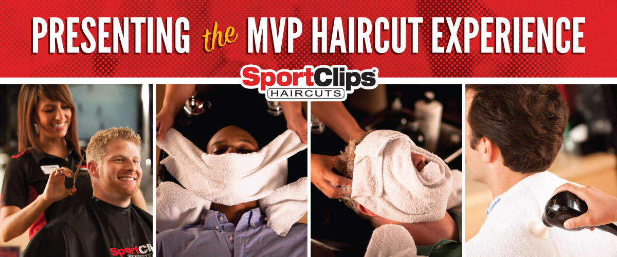 The Sport Clips Haircuts of Burleson MVP Haircut Experience